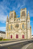 Church Notre Dame des Champsin Avranches Royalty Free Stock Image