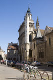 The church Notre Dame in Dijon, France Stock Photos