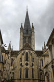 The church Notre Dame in Dijon, France Royalty Free Stock Image