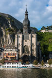 Church of Notre-Dame in Dinant, Belgium Stock Photo