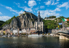 Church of Notre-Dame in Dinant, Belgium Royalty Free Stock Photography