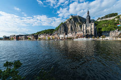 Church of Notre-Dame in Dinant, Belgium Stock Image