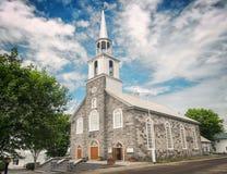 Church of Notre-Dame-du-Portage Stock Photo