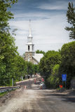 Church of Notre-Dame-du-Portage Royalty Free Stock Image