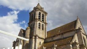 CHURCH NOTRE-DAME IN EPIAIS-RHUS Royalty Free Stock Photos