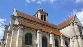 CHURCH NOTRE-DAME IN EPIAIS-RHUS Royalty Free Stock Images