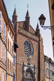 Church of Notre-Dame La Dalbade in Toulouse Stock Photo