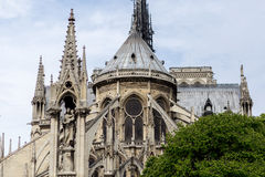Church Notre Dame in Paris Royalty Free Stock Image