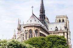Church Notre Dame in Paris Royalty Free Stock Photos