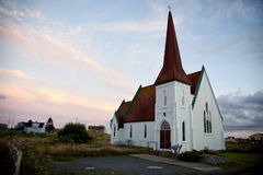 Church in nova scotia Royalty Free Stock Images
