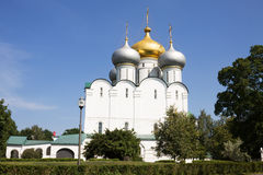 The church in the Novodevichy Convent. Moscow Royalty Free Stock Photos