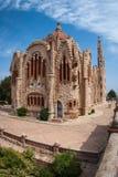 Church at Novoelda, Valencia y Murcia,  Spain Stock Images
