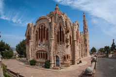 Church at Novoelda, Valencia y Murcia,  Spain Royalty Free Stock Images