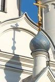 Church in Novosibirsk stock photos