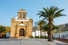 Church of Nuestra Senora de la Pena near Betancuria, Ermita de la Virgen de la Pena, Fuerteventura, Spain Royalty Free Stock Image