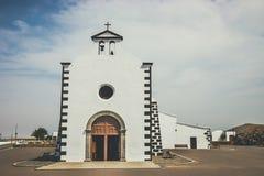 Church of  Nuestra Senora de los Volcanes in Mancha Blanca Royalty Free Stock Images