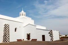 Church of  Nuestra Senora de los Volcanes in Mancha Blanca, Lanzarote Royalty Free Stock Photo