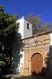 The Church of Nuestra Senora de Regla in Pajara. Fuerteventura Stock Photos