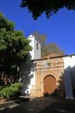 The Church of Nuestra Senora de Regla in Pajara. Fuerteventura Stock Image