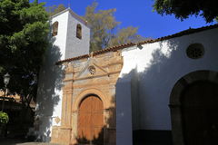 The Church of Nuestra Senora de Regla in Pajara. Fuerteventura Royalty Free Stock Image