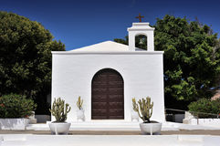 Church of Nuestra Senora del Carmen, Arrieta, Lanzarote Island, Stock Photos