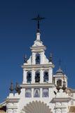 The church Nuestra Senora del Rocio in Rocio Royalty Free Stock Image