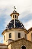 Church of Nuestra Señora del Consuelo or La Mare de Déu del Consol (Our Lady of Solace) Stock Images