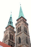 Church in nuremberg Royalty Free Stock Photo