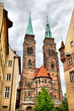 Church in Nuremberg Royalty Free Stock Photography