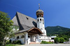 Church in Oberau Royalty Free Stock Photos