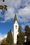 Church in Oberstdorf Royalty Free Stock Photography