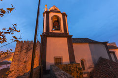 Church in Obidos, Portugal Stock Photography