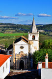 Church of Obidos Royalty Free Stock Images