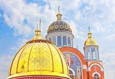 Church in Obolon district, Kyiv Stock Image