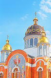 Church in Obolon district, Kyiv Royalty Free Stock Photos