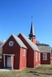 Church Of Flakstad Royalty Free Stock Photo