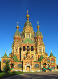 Church Of Holy Apostles Peter And Paul In Peterhof Royalty Free Stock Photography