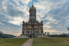 Church Of Holy Virgin Of Sign At Dubrovitsy Royalty Free Stock Images