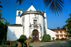 Church Of Lady Of The Rosary In Old Goa Stock Photo