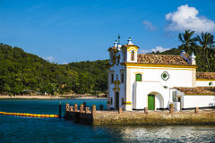 Free Church Of Our Lady Of Loreto Located On The Island Of The Frades In The Bay Of All Saints In Salvador Bahia Stock Photography - 84278392
