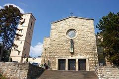 Free Church Of Saint Anthony Of Padua, Zagreb Stock Images - 125474994