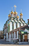 Church Of Saint Nicholas In Khamovniki, Moscow, Russia Stock Photo