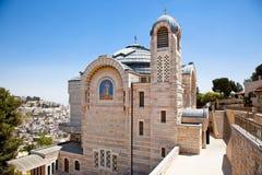 Church Of Saint Peter. Jerusalem, Israel. Stock Photos