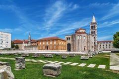 Free Church Of St. Donatus, Zadar, Croatia Royalty Free Stock Photo - 155511055