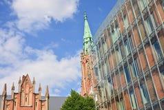 Church Of St. Gertrude In Riga. Latvia Stock Image