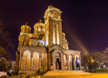 Free Church Of St. Mark In Belgrade Stock Photos - 50651973
