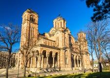 Free Church Of St. Mark In Belgrade Royalty Free Stock Photo - 50652225