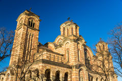Free Church Of St. Mark In Belgrade Stock Images - 50652944