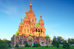 Free Church Of St. Peter And Paul Church, Peterhof Royalty Free Stock Image - 26199666