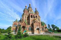 Free Church Of St. Peter And Paul Church Saint Petersburg, Russia Royalty Free Stock Image - 49243216